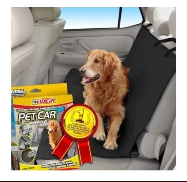 Capa protetora para banco traseiro Pet&car - Foto 3