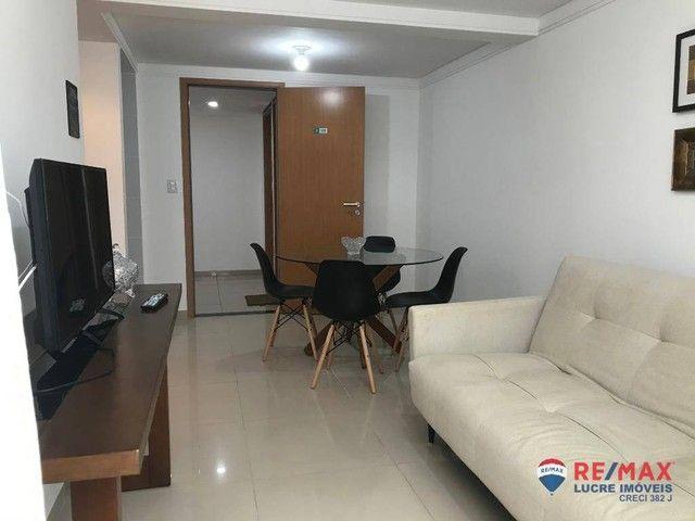 Apartamento com 1 dormitório para alugar, 39 m² por R$ 1.900,00/mês - Cabo Branco - João P - Foto 6