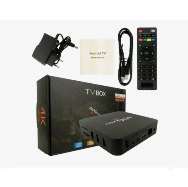 Aparelho Smart Tv Box 32g 128g Transforme Sua Tv Em Smart tv - Foto 5