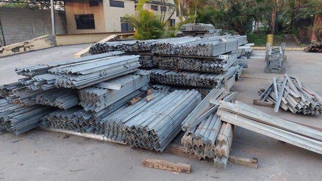 Cantoneiras novas todas as medidas de zinco  - Foto 3
