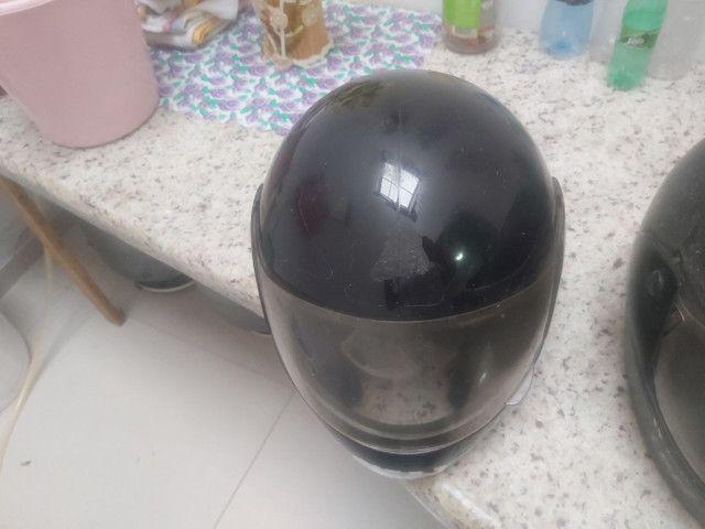 2 capacetes por 50 reais
