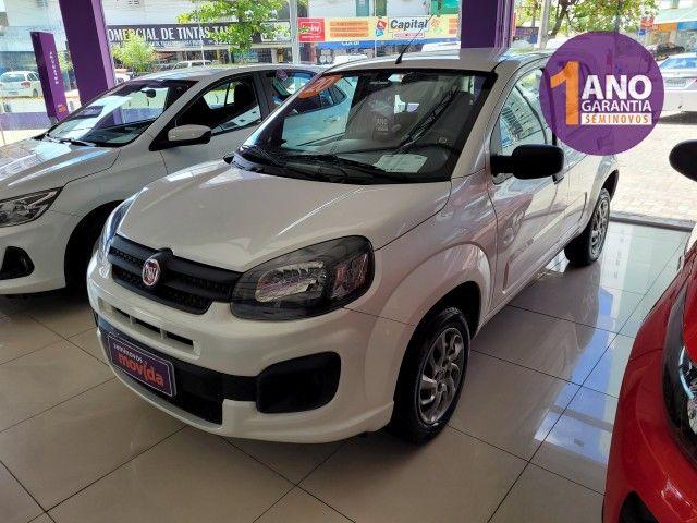 Fiat Uno Attractive 1.0 8V (Flex) 4p - Foto 2