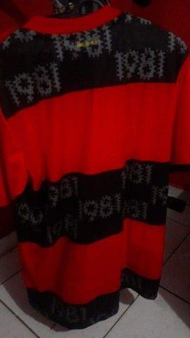 Vendo Camisa Original do Flamengo com alusão ao Mundial de 1981 - Foto 5
