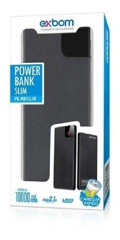 Carregador Portátil Para Celular Power Bank Bateria Externa 10.000 mAh - Foto 4
