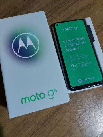 Moto g8 64gb novooo - Foto 4
