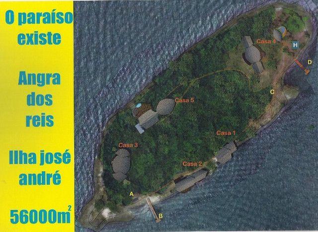 Ilha Jose Andre com 56.000 m2 em Angra dos Reis - RJ - Foto 20