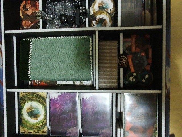 Eldritch Horror, Nunca Usado, Sem Lacre, Sleeves Organizador - Foto 2