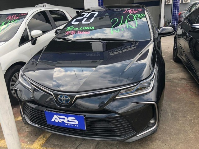 Corolla Altis 2020 Completo + GNV Entr. 48x 2.490,00 - Foto 5