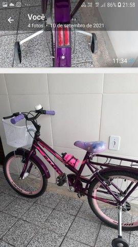 Bicicleta ceci infantil aro 20,dá pra uma criança até 08 anos