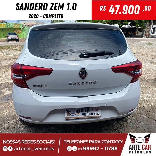 Renalt sandero zem 1.0 completo 2020!! - Foto 9