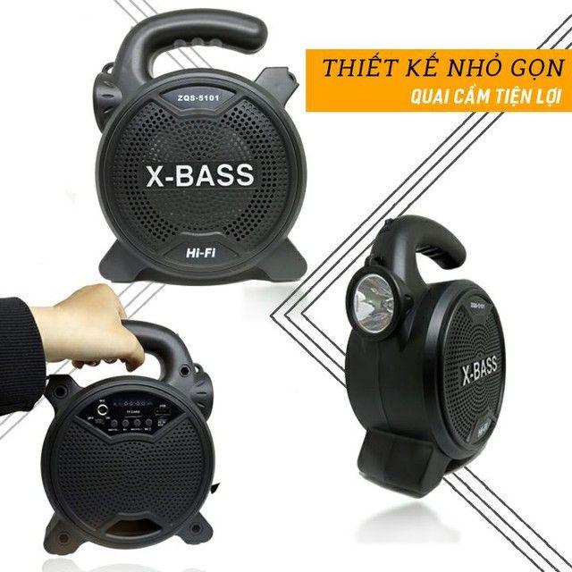 Som Bluetooth X-BASS ZQS-5101 - Foto 3