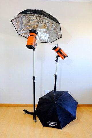 Kit de Iluminação para estúdio fotográfico MAKO