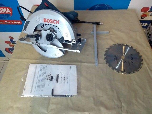 Serra Circular Bosch GKS150 1500W ? Entrega grátis  - Foto 4