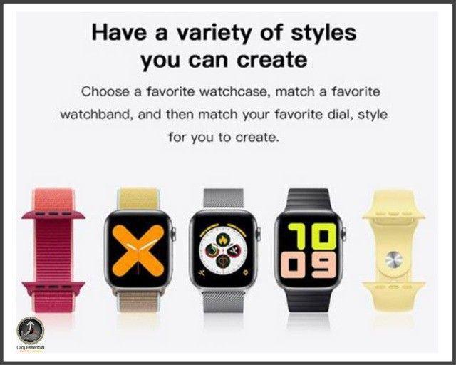 Relogio Inteligente Smartwatch Iwo 14 X7 Versão Atualizada - Foto 5