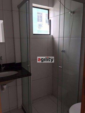 Apartamento com 1 dormitório para alugar, 38 m² por R$ 950,00/ano - Capim Macio - Natal/RN - Foto 11