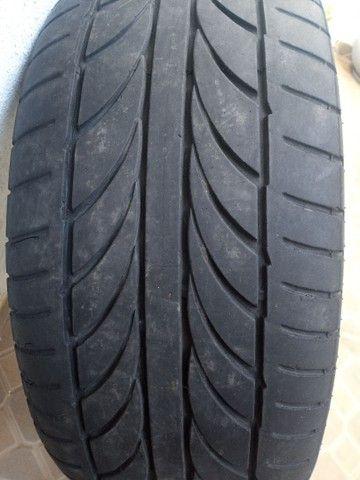 Rodas aro 20 com pneus meia vida  - Foto 5