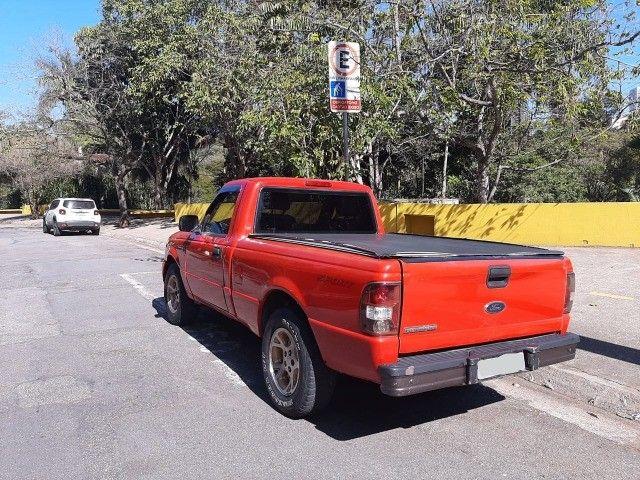 Ford Ranger 2008 Sport XLS 10A 4X2 - GNV 5° geração Motor 2.3 Completa  - Foto 10