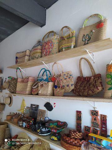 Bolsas de palha loja duser_tao - Foto 2