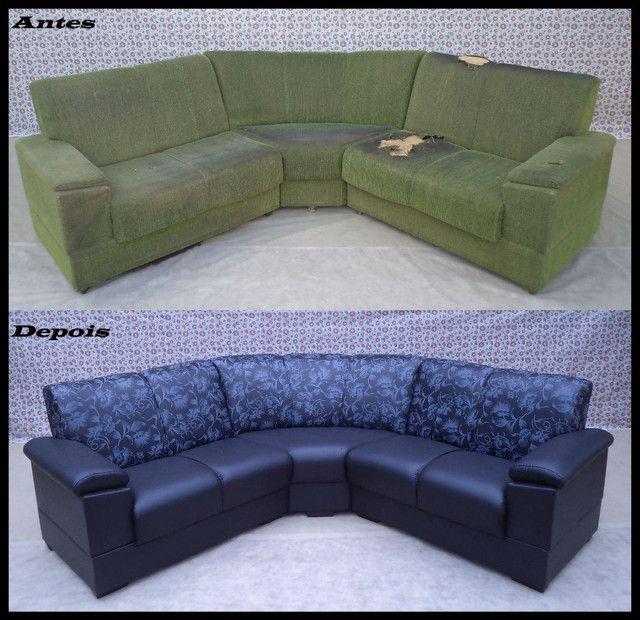 Restauração e reforma geral de sofa - Foto 2