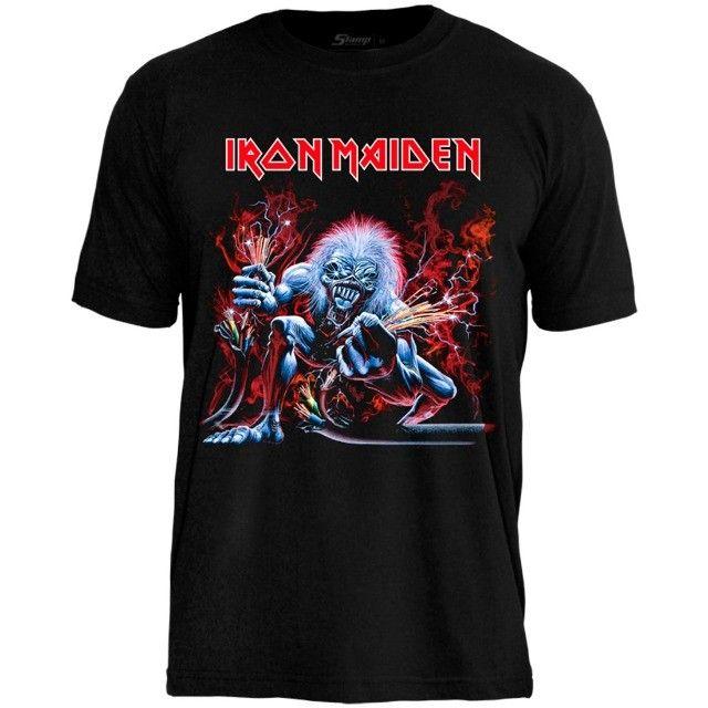 Camisetas de Banda de Rock - Foto 6