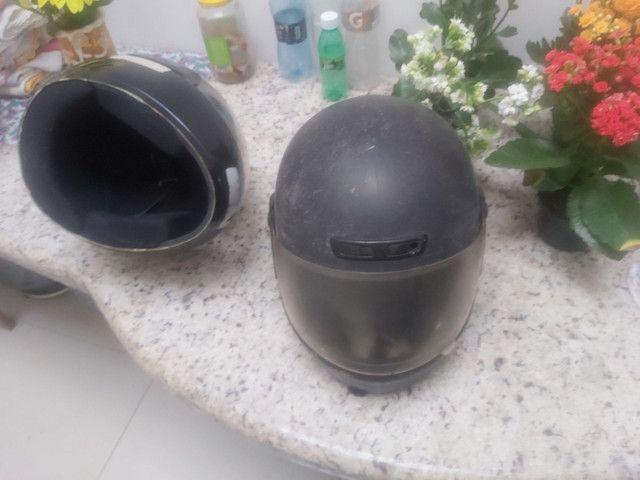 2 capacetes por 50 reais - Foto 3