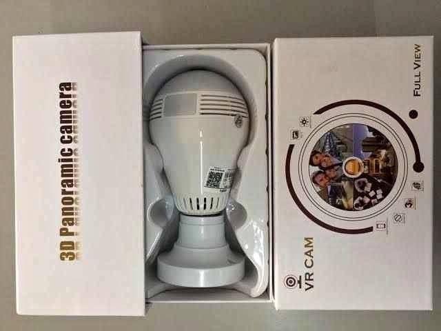 Lâmpada Câmera VR Câm. 360° Nova, Lacrada A Pronta Entrega