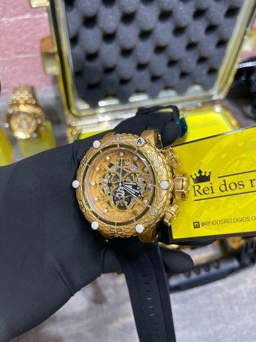 Relógio invicta SUBAQUA Correia preta lacrado - Foto 2