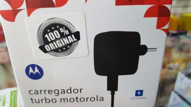 Carregador turbo motorola 70,00