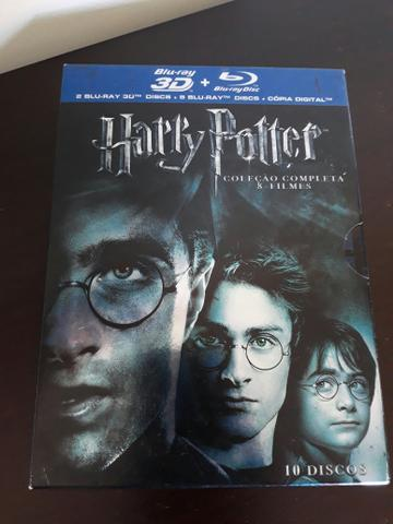 Blu ray Harry Potter 3D