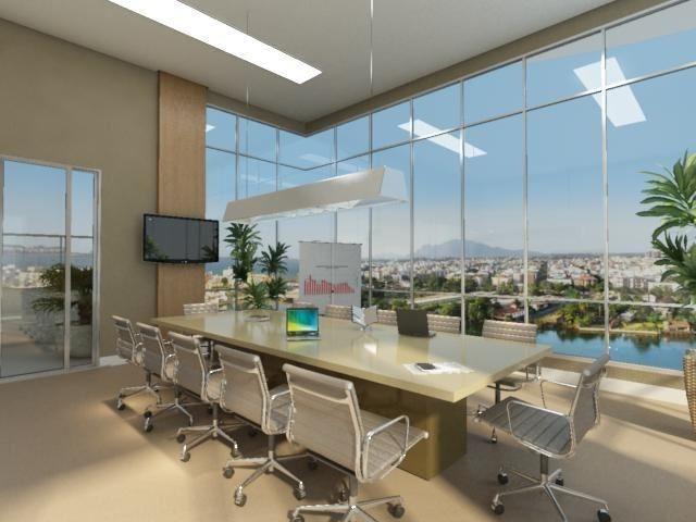 Sala já alugada com vista espetacular, 36m² no Impacto Empresarial na Reta da Penha! - Foto 13