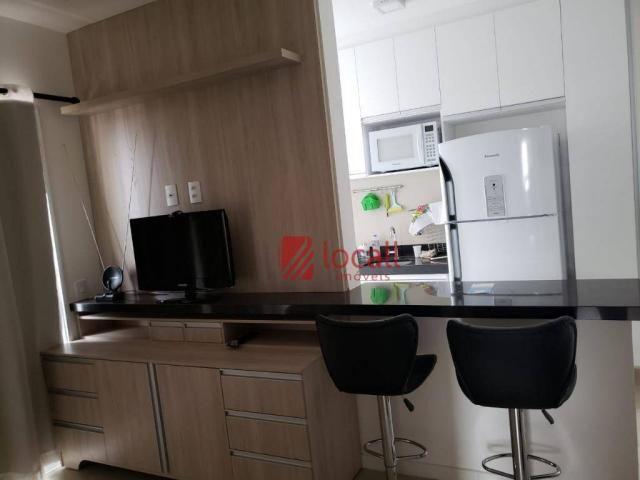 Apartamento com 1 dormitório para alugar, 40 m² por r$ 1.500,00/mês - jardim novo mundo -  - Foto 2