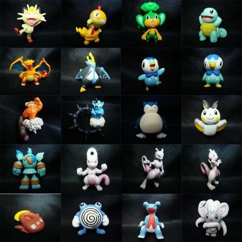 288f7421c7b05 Kit 144 Miniaturas Pokemon Go 3cm Brinquedo - Hobbies e coleções ...