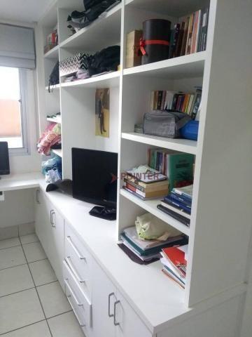 Apartamento com 3 dormitórios à venda, 92 m² por R$ 370.000,00 - Jardim Goiás - Goiânia/GO - Foto 17