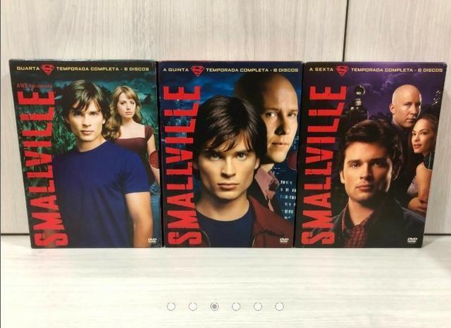 Coleção Completa 10 Temporadas Dvds Originais Smallville - Foto 4