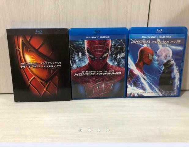 Coleção Blu Ray Homem Aranha 05 Filmes
