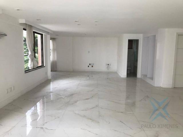 Apartamento com 4 dormitórios à venda, 357 m² por r$ 2.680.000,00 - meireles - fortaleza/c - Foto 6