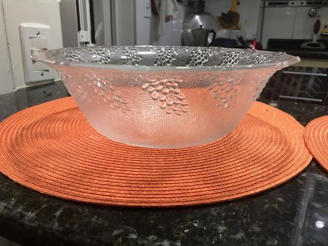 Duo de saladeiras em vidro - Foto 4