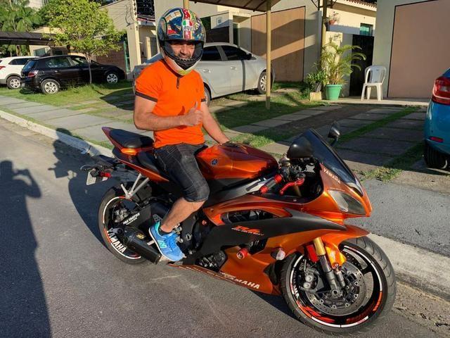 R6 yamaha moto