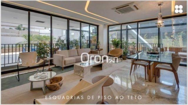 Apartamento com 3 dormitórios à venda, 157 m² por r$ 889.000,00 - setor marista - goiânia/ - Foto 2