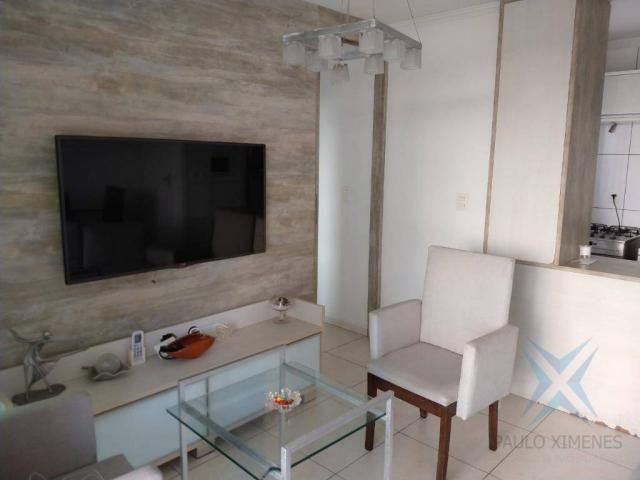 Apartamento com 1 dormitório à venda, 48 m² por r$ 300.000 - praia de iracema - fortaleza/ - Foto 4