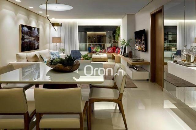 Apartamento com 3 dormitórios à venda, 154 m² por r$ 770.000,00 - setor bueno - goiânia/go - Foto 4