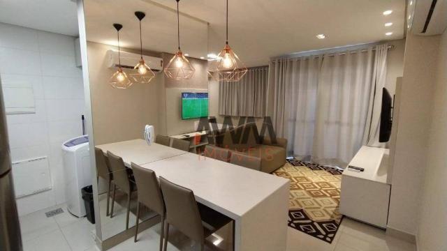 Apartamento com 1 dormitório para alugar, 42 m² por R$ 2.000,00/mês - Setor Oeste - Goiâni - Foto 17