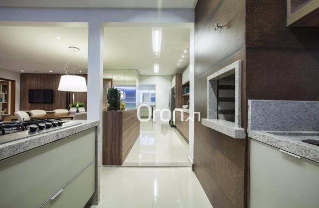 Apartamento com 3 dormitórios à venda, 154 m² por R$ 981.000,00 - Alto da Glória - Goiânia - Foto 3
