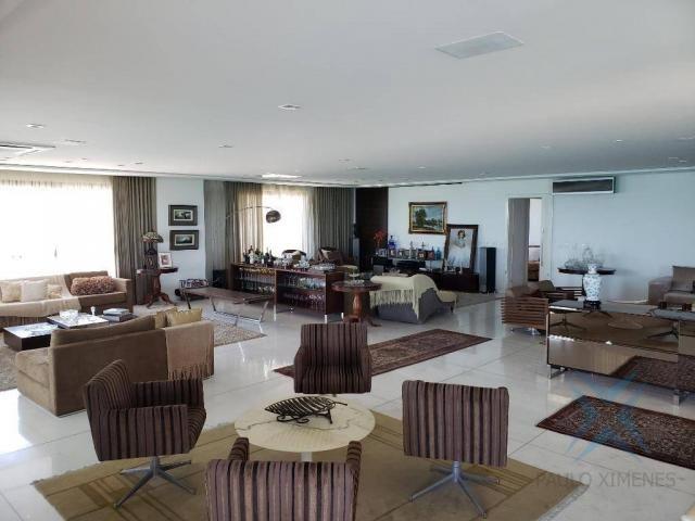 Apartamento alto padrão para alugar, 550 m² por r$ 20.000/mês - meireles - fortaleza/ce - Foto 3