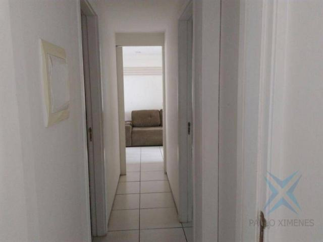 Apartamento com 3 dormitórios à venda, 74 m² por r$ 410.000,00 - cambeba - fortaleza/ce - Foto 5