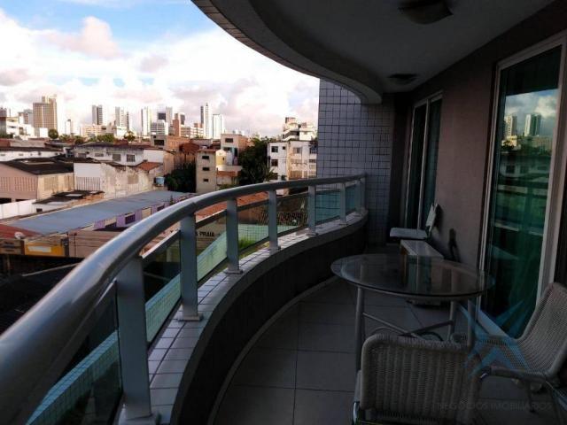 Apartamento com 1 dormitório à venda, 48 m² por r$ 300.000 - praia de iracema - fortaleza/ - Foto 13