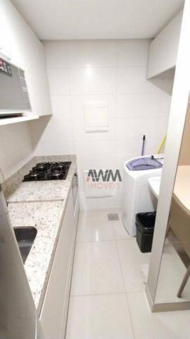 Apartamento com 1 dormitório para alugar, 42 m² por R$ 2.000,00/mês - Setor Oeste - Goiâni - Foto 19