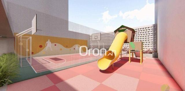 Apartamento com 2 dormitórios à venda, 56 m² por R$ 198.000,00 - Condomínio Santa Rita - G - Foto 13