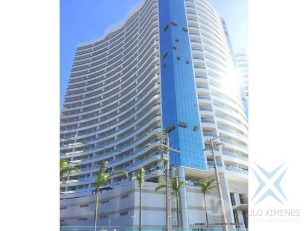 Apartamento com 2 dormitórios à venda, 70 m² por r$ 1.260.000 - meireles - fortaleza/ce