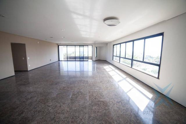 Apartamento vista mar com 4 dormitórios à venda, 352 m² por r$ 650.000 - antônio diogo - f